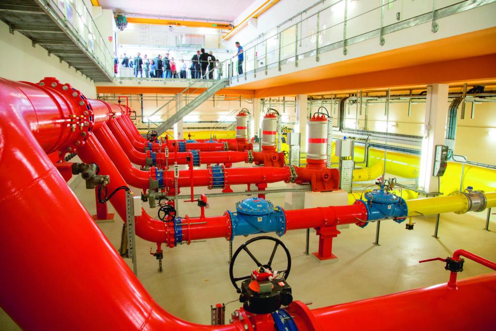 Inauguration Station de pompage de Puteaux le 16 septembre 2016